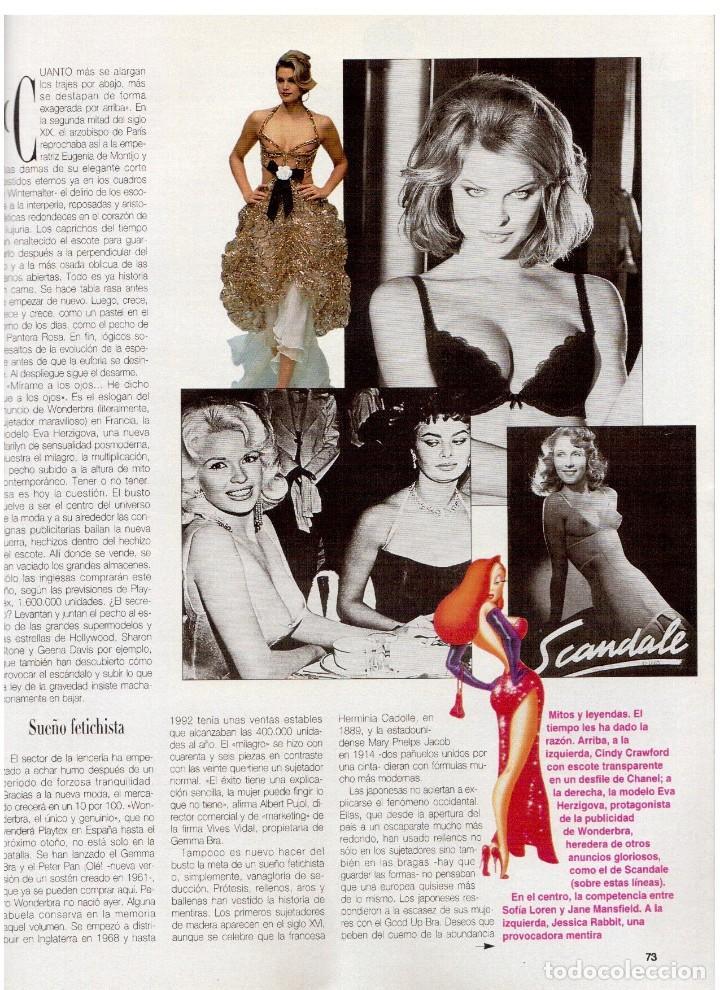 Coleccionismo de Revista Blanco y Negro: 1994. ALEJANDRO SANZ. ANA ALVAREZ. MARIBEL SANZ. JUANITO VALDERRAMA. IMANOL ARIAS. PASTORA VEGA. - Foto 19 - 126005111