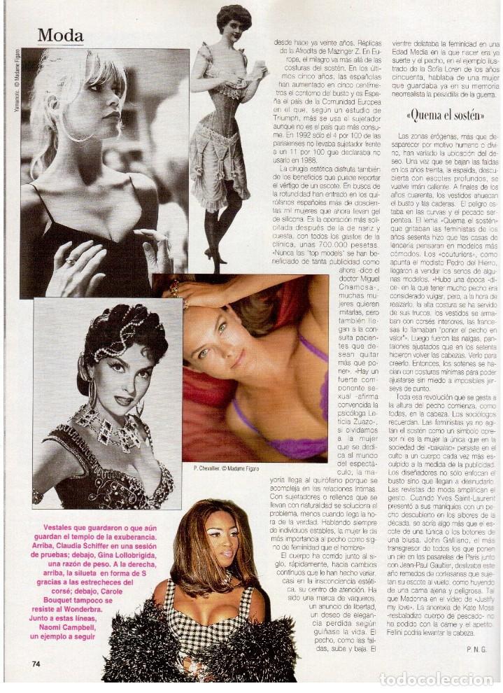 Coleccionismo de Revista Blanco y Negro: 1994. ALEJANDRO SANZ. ANA ALVAREZ. MARIBEL SANZ. JUANITO VALDERRAMA. IMANOL ARIAS. PASTORA VEGA. - Foto 20 - 126005111