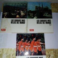 Coleccionismo de Revista Blanco y Negro: LAS CIUDADES MAS BELLAS DEL MUNDO. 3 VOLUMENES. BLANCO Y NEGRO. 1969. Lote 127458551