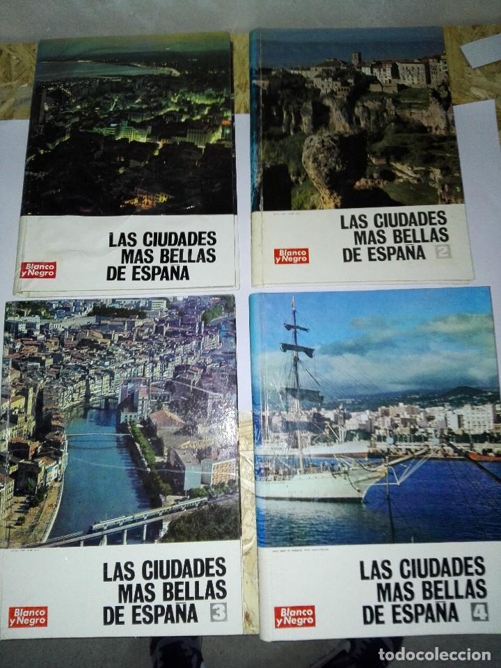 LAS CIUDADES MAS BELLAS DE ESPAÑA. 4 VOLUMENES. BLANCO Y NEGRO. 1969 (Coleccionismo - Revistas y Periódicos Modernos (a partir de 1.940) - Blanco y Negro)