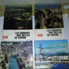 Coleccionismo de Revista Blanco y Negro: LAS CIUDADES MAS BELLAS DE ESPAÑA. 4 VOLUMENES. BLANCO Y NEGRO. 1969. Lote 127458859