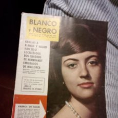 Coleccionismo de Revista Blanco y Negro: BLANCO Y NEGRO DEL 1962. Lote 127963347