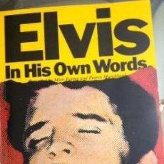 Coleccionismo de Revista Blanco y Negro: ANTIGUA REVISTA ELVIS IN HIS OWN WORDS 1977 MULTITUD DE FOTOS. Lote 129478563