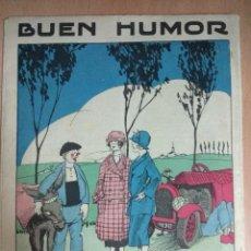Coleccionismo de Revista Blanco y Negro: BUEN HUMOR Nº 87 DE 29/07/1923 SEMINARIO SATIRICO. Lote 129551479