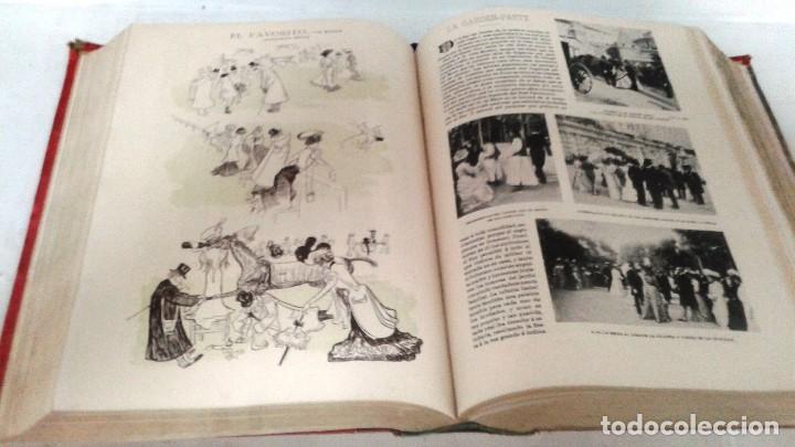 Coleccionismo de Revista Blanco y Negro: BLANCO Y NEGRO AÑOS TOMOS COMPLETOS 1900 1902 - Foto 8 - 130585014