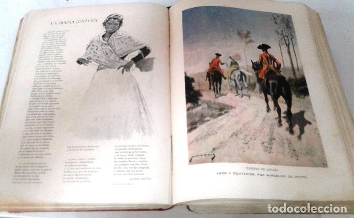 Coleccionismo de Revista Blanco y Negro: BLANCO Y NEGRO AÑOS TOMOS COMPLETOS 1900 1902 - Foto 10 - 130585014