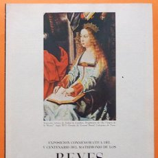 Colecionismo de Revistas Preto e Branco: EL ARTE EN LA ÉPOCA DE LOS REYES CATÓLICOS: II. PINTURA - FASCÍCULO DE LA REVISTA BLANCO Y NEGRO. Lote 131075716