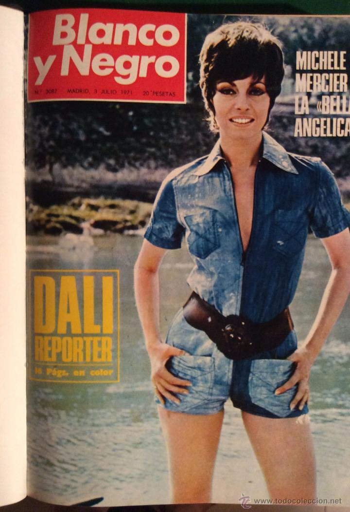 Coleccionismo de Revista Blanco y Negro: BLANCO Y NEGRO AÑO 1971 revistas encuadernadas ,,Ideal coleccionistas - Foto 5 - 132292822