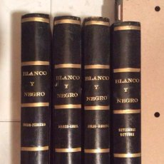 Coleccionismo de Revista Blanco y Negro: BLANCO Y NEGRO AÑO 1971 REVISTAS ENCUADERNADAS ,,IDEAL COLECCIONISTAS . Lote 132292822