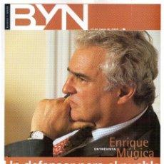 Coleccionismo de Revista Blanco y Negro: 2000. ENRIQUE MÚGICA. GONG LI. JORGE PERUGORRÍA. SÓNAR 2000. -RADIO RARA -. LEO MATIZ. VINTON CERF. . Lote 133613470
