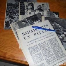 Coleccionismo de Revista Blanco y Negro: RECORTE PRENSA : ENTREVISTA A BAHAMONTES EN SAINT- ETIENNE. BLANCO Y NEGRO, JULIO 1959. Lote 133622462