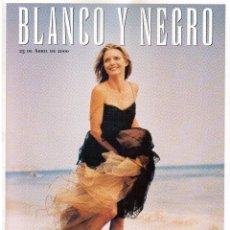 Coleccionismo de Revista Blanco y Negro: 2000. MICHELLE PFEIFFER. JEANNINE MESTRE. JOAQUÍN CORTÉS. ÁGHATA RUIZ DE LA PRADA. VER SUMARIO.. Lote 133630834