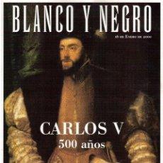 Coleccionismo de Revista Blanco y Negro: 2000. TRISTÁN ULLOA. PLÁCIDO DOMINGO. GWYNETH PALTROW. MANOLO SANLÚCAR. VER SUMARIO.. Lote 133814930