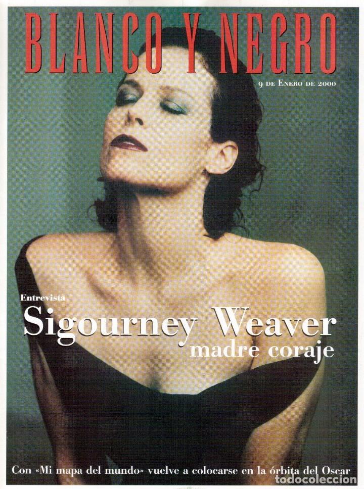 2000. SIGOURNEY WEAVER. JEAN - MICHEL JARRE. LOCURAS DALINIANAS. BOXEO. VER SUMARIO. (Coleccionismo - Revistas y Periódicos Modernos (a partir de 1.940) - Blanco y Negro)