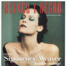 Coleccionismo de Revista Blanco y Negro: 2000. SIGOURNEY WEAVER. JEAN - MICHEL JARRE. LOCURAS DALINIANAS. BOXEO. VER SUMARIO.. Lote 133816746