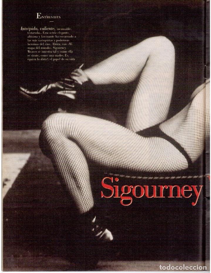 Coleccionismo de Revista Blanco y Negro: 2000. SIGOURNEY WEAVER. JEAN - MICHEL JARRE. LOCURAS DALINIANAS. BOXEO. VER SUMARIO. - Foto 6 - 133816746