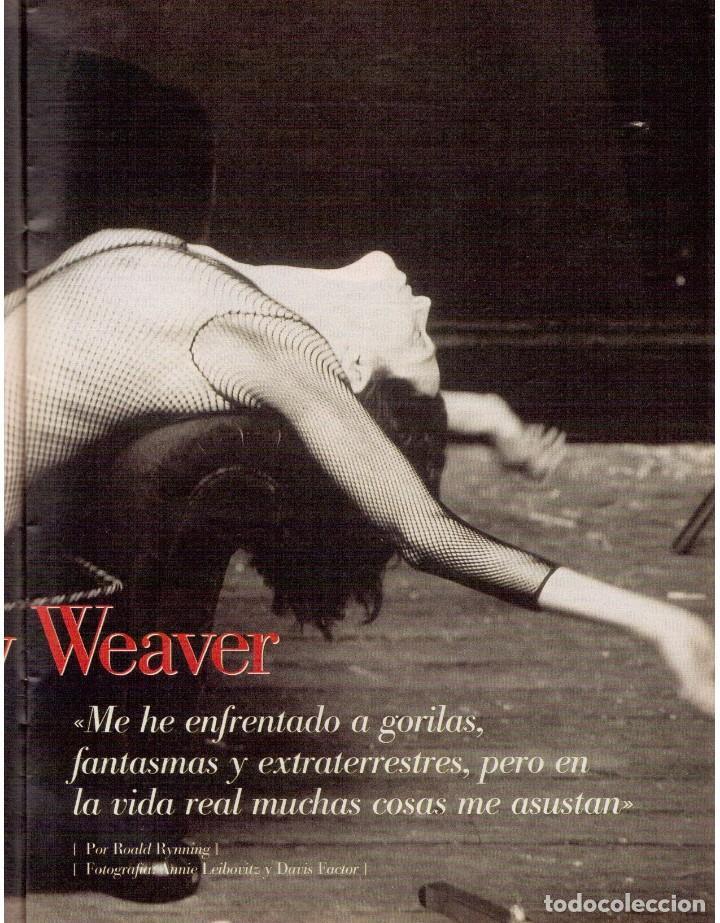 Coleccionismo de Revista Blanco y Negro: 2000. SIGOURNEY WEAVER. JEAN - MICHEL JARRE. LOCURAS DALINIANAS. BOXEO. VER SUMARIO. - Foto 7 - 133816746