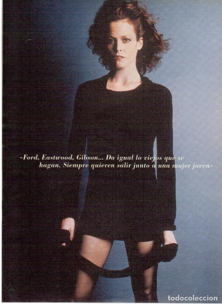 Coleccionismo de Revista Blanco y Negro: 2000. SIGOURNEY WEAVER. JEAN - MICHEL JARRE. LOCURAS DALINIANAS. BOXEO. VER SUMARIO. - Foto 8 - 133816746
