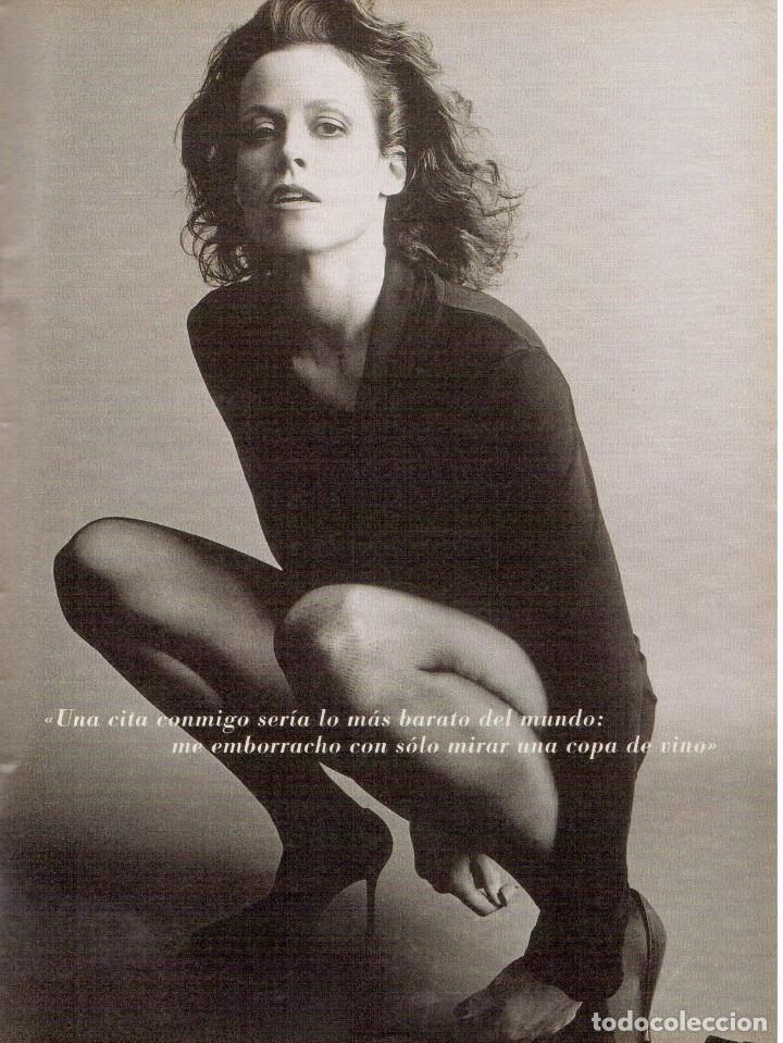 Coleccionismo de Revista Blanco y Negro: 2000. SIGOURNEY WEAVER. JEAN - MICHEL JARRE. LOCURAS DALINIANAS. BOXEO. VER SUMARIO. - Foto 9 - 133816746