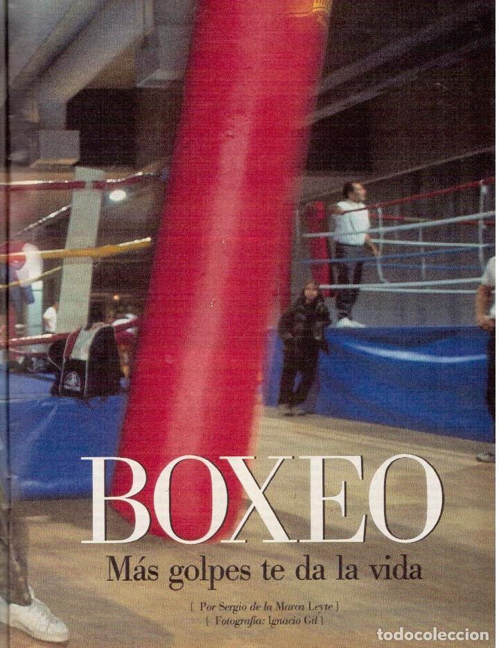 Coleccionismo de Revista Blanco y Negro: 2000. SIGOURNEY WEAVER. JEAN - MICHEL JARRE. LOCURAS DALINIANAS. BOXEO. VER SUMARIO. - Foto 10 - 133816746