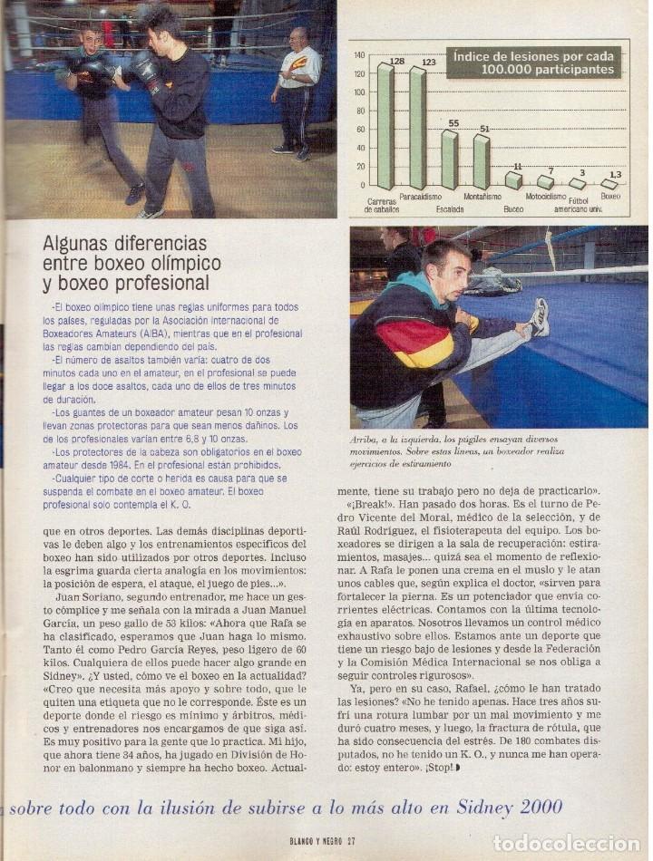 Coleccionismo de Revista Blanco y Negro: 2000. SIGOURNEY WEAVER. JEAN - MICHEL JARRE. LOCURAS DALINIANAS. BOXEO. VER SUMARIO. - Foto 12 - 133816746