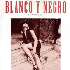 Coleccionismo de Revista Blanco y Negro: 1999. FERNANDO TRUEBA, UN VANGUARDISTA FRUSTRADO. LOS ESCLAVOS DE HITLER. ARISTÓCRATAS SICILIANOS. . Lote 133893686
