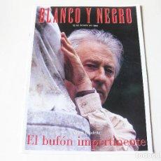 Coleccionismo de Revista Blanco y Negro: REVISTA BLANCO Y NEGRO DE 15 DE AGOSTO DE 1999 - STAR WARS EPISODIO I - ALBERT BOADELLA. Lote 133895598