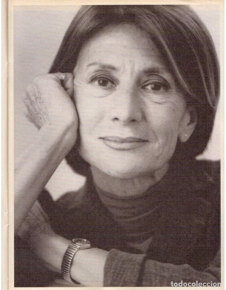 Coleccionismo de Revista Blanco y Negro: 1999. IMAN Y WALLIS DIRIE, CONTRA LA ABLACIÓN. SOLEDAD LORENZO. ANDREA BOCELLI. VER SUMARIO. - Foto 4 - 133905178