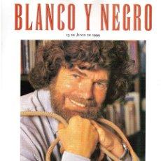 Coleccionismo de Revista Blanco y Negro: 1999. ALEJANDRA VALLEJO - NÁGERA. NEORREALISMO, ITALIA AÑO CERO. SUSAN SARANDON. MANDELA. . Lote 133962262