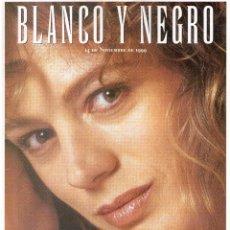 Coleccionismo de Revista Blanco y Negro: 1999. EMMA SUÁREZ. MARÍA DOLORES PRADERA. GRACE KELLY. ROY LICHTENSTEIN. VER SUMARIO.. Lote 134082394