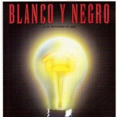 Coleccionismo de Revista Blanco y Negro: 1999. VICENTE AMIGO. PEREJAUME. NURIA ROCA. ESTEFANÍA LUIK. VER SUMARIO.. Lote 134181398