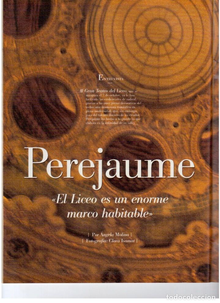 Coleccionismo de Revista Blanco y Negro: 1999. VICENTE AMIGO. PEREJAUME. NURIA ROCA. ESTEFANÍA LUIK. VER SUMARIO. - Foto 5 - 134181398
