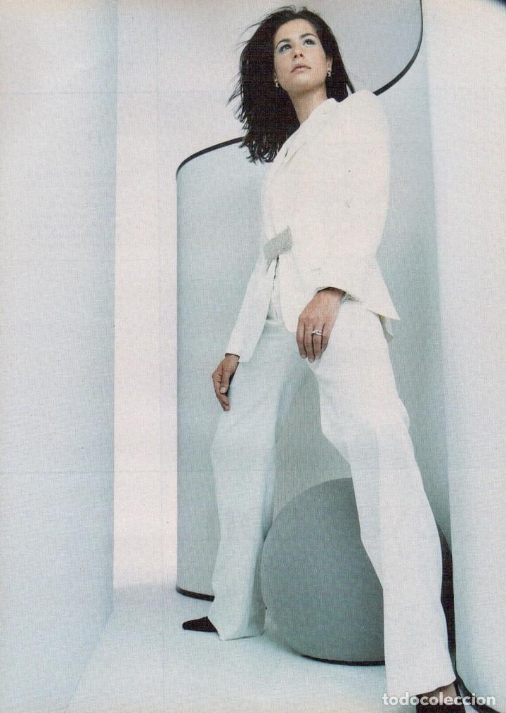 Coleccionismo de Revista Blanco y Negro: 1999. VICENTE AMIGO. PEREJAUME. NURIA ROCA. ESTEFANÍA LUIK. VER SUMARIO. - Foto 8 - 134181398