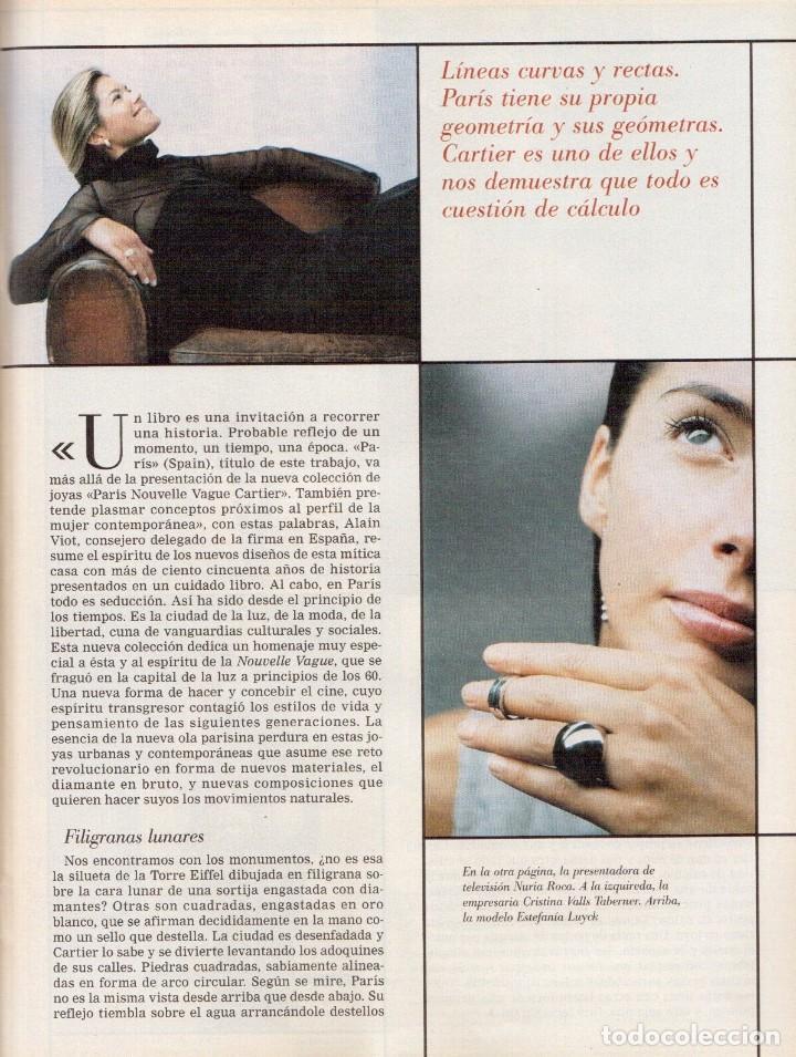 Coleccionismo de Revista Blanco y Negro: 1999. VICENTE AMIGO. PEREJAUME. NURIA ROCA. ESTEFANÍA LUIK. VER SUMARIO. - Foto 9 - 134181398