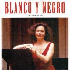 Coleccionismo de Revista Blanco y Negro: 1999. MARINA BOLLAÍN. ROMAN POLANSKI. JOSEFINA MOLINA. JOANE SOMARRIBA. VER SUMARIO. . Lote 134225034