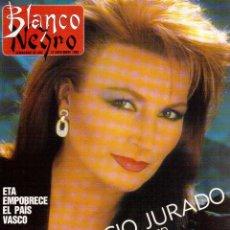 Coleccionismo de Revista Blanco y Negro: 1988. ROCIO JURADO. INÉS SASTRE. ALEJANDRA GREPI. EMMA SUÁREZ. LYDIA BOSCH. VER SUMARIO.. Lote 134360978