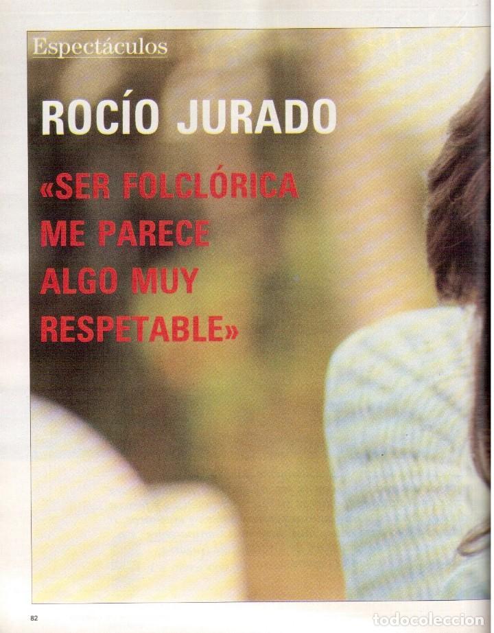 Coleccionismo de Revista Blanco y Negro: 1988. ROCIO JURADO. INÉS SASTRE. ALEJANDRA GREPI. EMMA SUÁREZ. LYDIA BOSCH. VER SUMARIO. - Foto 11 - 134360978