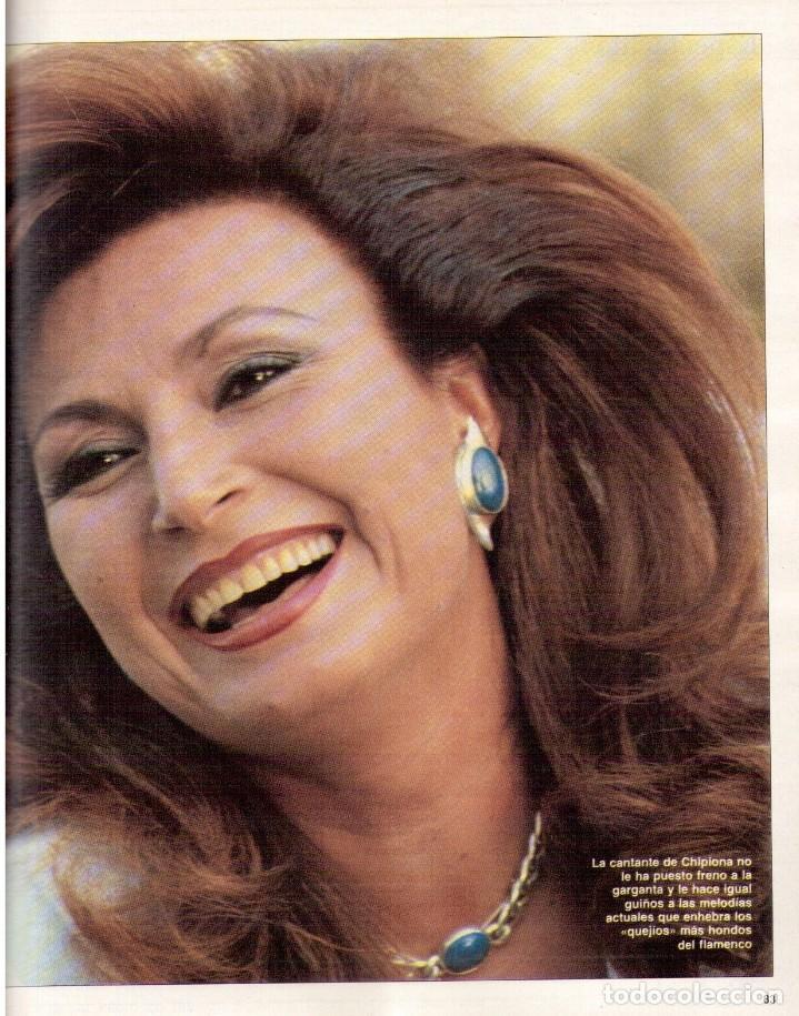 Coleccionismo de Revista Blanco y Negro: 1988. ROCIO JURADO. INÉS SASTRE. ALEJANDRA GREPI. EMMA SUÁREZ. LYDIA BOSCH. VER SUMARIO. - Foto 12 - 134360978