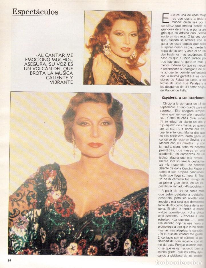 Coleccionismo de Revista Blanco y Negro: 1988. ROCIO JURADO. INÉS SASTRE. ALEJANDRA GREPI. EMMA SUÁREZ. LYDIA BOSCH. VER SUMARIO. - Foto 13 - 134360978