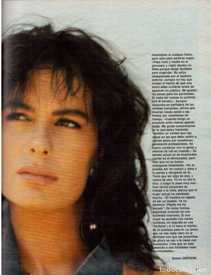 Coleccionismo de Revista Blanco y Negro: 1988. PALOMA SAN BASILIO. ALEJANDRA GREPI. MARTA SÁNCHEZ. MAYA PLISETSKAYA. JAVIER MARISCAL. VER. - Foto 6 - 134370418