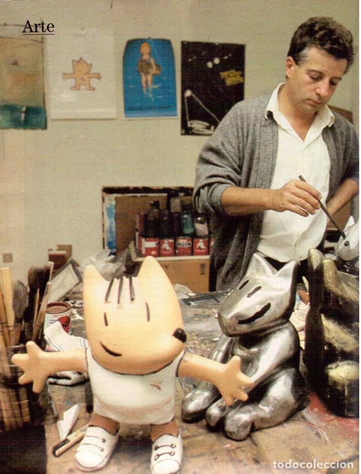 Coleccionismo de Revista Blanco y Negro: 1988. PALOMA SAN BASILIO. ALEJANDRA GREPI. MARTA SÁNCHEZ. MAYA PLISETSKAYA. JAVIER MARISCAL. VER. - Foto 11 - 134370418