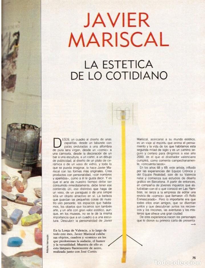 Coleccionismo de Revista Blanco y Negro: 1988. PALOMA SAN BASILIO. ALEJANDRA GREPI. MARTA SÁNCHEZ. MAYA PLISETSKAYA. JAVIER MARISCAL. VER. - Foto 12 - 134370418