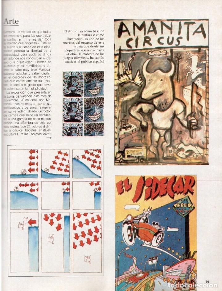 Coleccionismo de Revista Blanco y Negro: 1988. PALOMA SAN BASILIO. ALEJANDRA GREPI. MARTA SÁNCHEZ. MAYA PLISETSKAYA. JAVIER MARISCAL. VER. - Foto 13 - 134370418