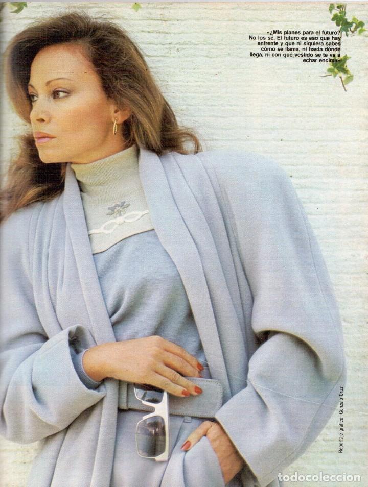 Coleccionismo de Revista Blanco y Negro: 1988. PALOMA SAN BASILIO. ALEJANDRA GREPI. MARTA SÁNCHEZ. MAYA PLISETSKAYA. JAVIER MARISCAL. VER. - Foto 16 - 134370418