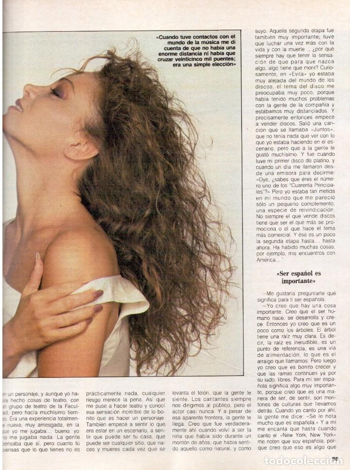 Coleccionismo de Revista Blanco y Negro: 1988. PALOMA SAN BASILIO. ALEJANDRA GREPI. MARTA SÁNCHEZ. MAYA PLISETSKAYA. JAVIER MARISCAL. VER. - Foto 17 - 134370418