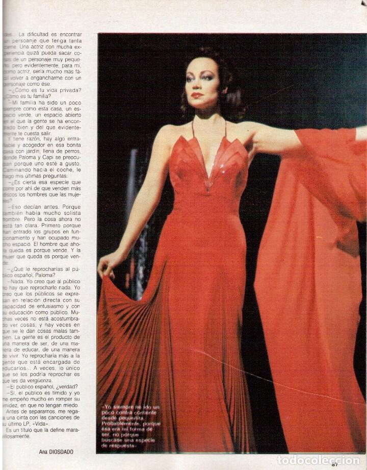 Coleccionismo de Revista Blanco y Negro: 1988. PALOMA SAN BASILIO. ALEJANDRA GREPI. MARTA SÁNCHEZ. MAYA PLISETSKAYA. JAVIER MARISCAL. VER. - Foto 19 - 134370418