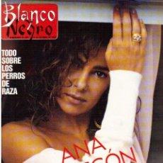 Coleccionismo de Revista Blanco y Negro: 1988. ANA OBREGÓN. KATRIN PURRUCKER. PATRICIA ADRIANI. VER SUMARIO.. Lote 134375958