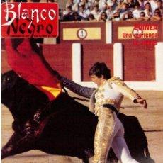 Coleccionismo de Revista Blanco y Negro: 1988. ROCIO JURADO. JOSÉ ANTONIO. ANA ÁLVAREZ. MARTA SÁNCHEZ.VICKY LARRAZ. HOMBRES G EN EL CIRCO POP. Lote 134380530