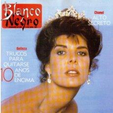 Coleccionismo de Revista Blanco y Negro: 1991. CAROLINA DE MÓNACO. PAOLA DOMINGUÍN. CHARO LÓPEZ. EVA ISANTA. EMMA COHEN. . Lote 134621050