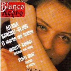 Coleccionismo de Revista Blanco y Negro: 1991. AITANA SÁNCHEZ-GIJÓN. BRIGITTE BARDOT. STEFFI GRAF. MINERVA PIQUERO. JUDIT MASCÓ. VER SUMARIO.. Lote 134632286